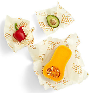 Bee's Wrap Assorted Reusable Food Wraps - Pack of 3