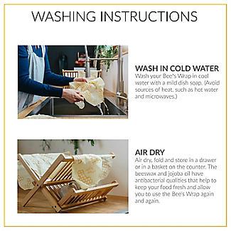 Bee's Wrap Reusable Sandwich Wrap 33 x 33cm alt image 10