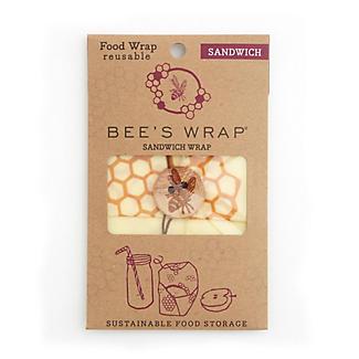 Bee's Wrap Reusable Sandwich Wrap 33 x 33cm alt image 4