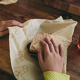 Bee's Wrap Reusable Sandwich Wrap 33 x 33cm alt image 5