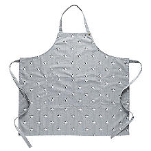 Mary Berry with Lakeland Star and Stripe Print Apron