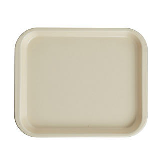Mary Berry with Lakeland Cream Enamel 30cm Oven Tray – Small
