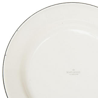 Mary Berry with Lakeland Cream and Green Enamel 22cm Pie Plate alt image 3