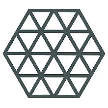Zone Denmark Triangles Silicone Trivet – Cactus Green