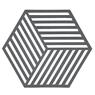 Zone Denmark Hexagon Silicone Trivet – Cool Grey