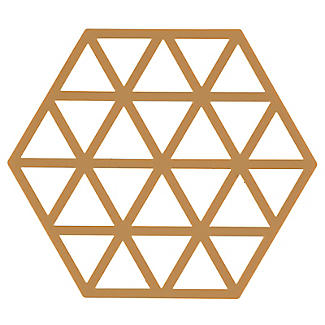 Zone Denmark Triangles Silicone Trivet – Butterscotch