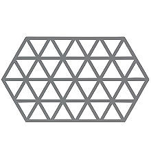 Zone Denmark Triangles Silicone Trivet Large – Cool Grey