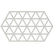 Zone Denmark Triangles Silicone Trivet Large – Warm Grey