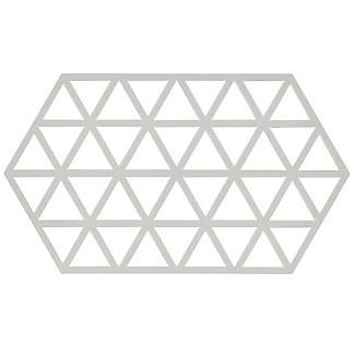 Zone Denmark Triangles Silicone Trivet Large – Warm Grey