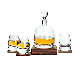 LSA Islay Whisky Decanter and Glasses Gift Set