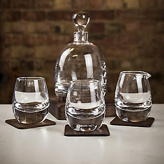 LSA Islay Whisky Decanter and Glasses Gift Set  alt image 2