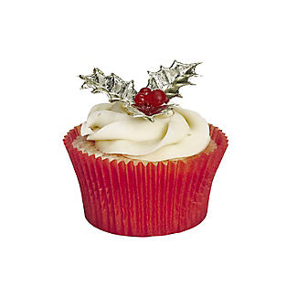 Holly and Berries Cake Toppers - Pack of 6 alt image 2