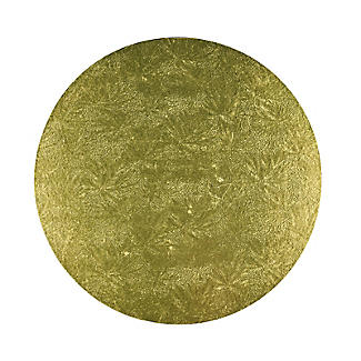 Gold, Red or Green Round Festive Cake Boards 25cm - Colours Vary alt image 3