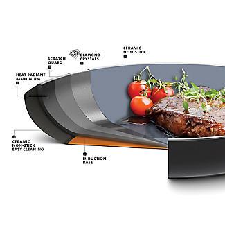 GreenPan Venice Pro 16cm Saucepan with Lid alt image 7
