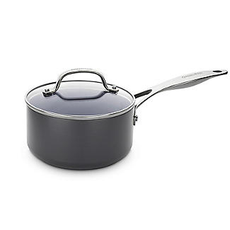 GreenPan Venice Pro 18cm Saucepan with Lid