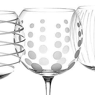 Mikasa Cheers Etched Balloon Glasses - Set of 4 alt image 4