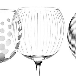 Mikasa Cheers Etched Balloon Glasses - Set of 4 alt image 5