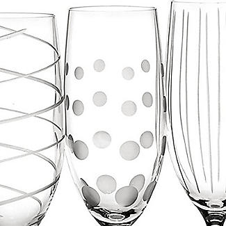 Mikasa Cheers Etched Champagne Flutes - Set of 4 alt image 4