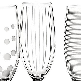 Mikasa Cheers Etched Champagne Flutes - Set of 4 alt image 5