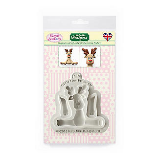 Sugar Buttons Reindeer Flexible Silicone Mould alt image 5