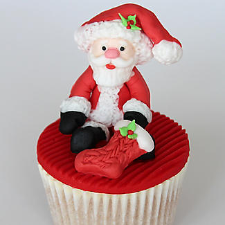 Sugar Buttons Father Christmas Silicone Mould alt image 3