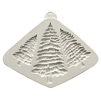 Katy Sue Designs Fir Trees Flexible Silicone Mould alt image 4