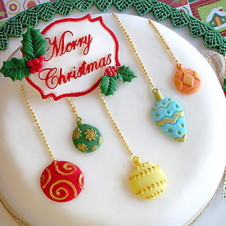 Katy Sue Designs Merry Christmas Silicone Mould alt image 2