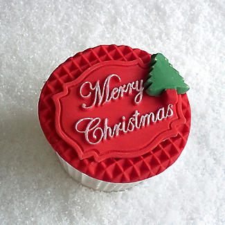 Katy Sue Designs Merry Christmas Silicone Mould alt image 3