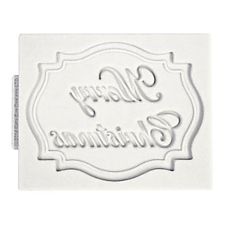 Katy Sue Designs Merry Christmas Silicone Mould alt image 4