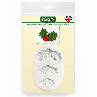 Katy Sue Designs Holly Trio Silicone Mould alt image 5