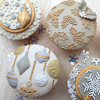 Katy Sue Designs Christmas Baubles Silicone Mould alt image 6