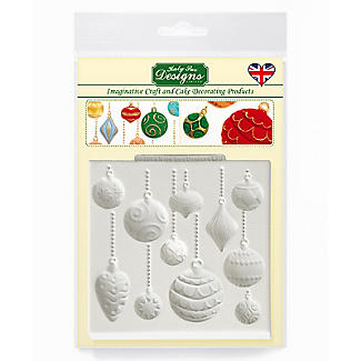 Katy Sue Designs Christmas Baubles Silicone Mould alt image 7