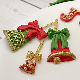 Katy Sue Designs Christmas Bells Silicone Mould alt image 2