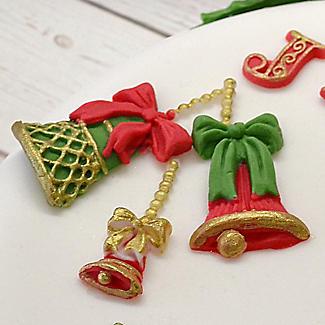 Katy Sue Designs Christmas Bells Silicone Mould alt image 2