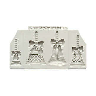 Katy Sue Designs Christmas Bells Silicone Mould alt image 4