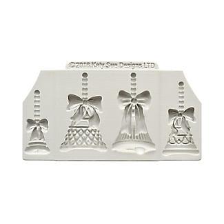 Katy Sue Designs Christmas Bells Silicone Mould alt image 4