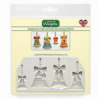 Katy Sue Designs Christmas Bells Silicone Mould alt image 5