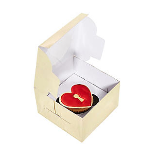 Lakeland Small Gold Presentation Box with Single-Hole Cupcake Insert alt image 3