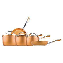 Prestige Prism 5-Piece Non-Stick Pan Set – Copper