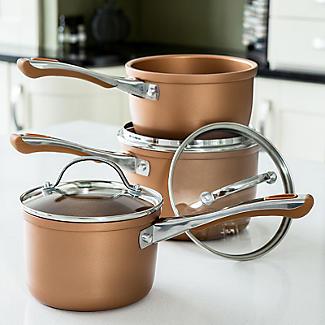 Prestige Prism 5-Piece Non-Stick Pan Set – Copper alt image 2
