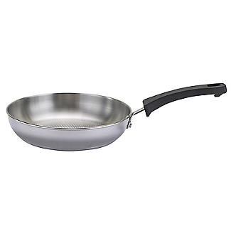 Prestige Kitchen Hacks 3-Piece Stainless Steel Nesting Frying Pan Set alt image 6