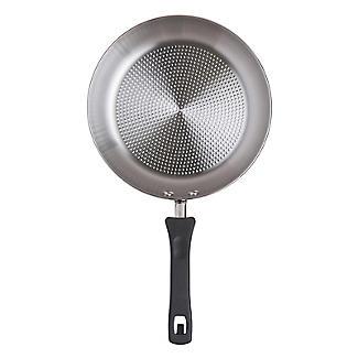 Prestige Kitchen Hacks 3-Piece Stainless Steel Nesting Frying Pan Set alt image 7