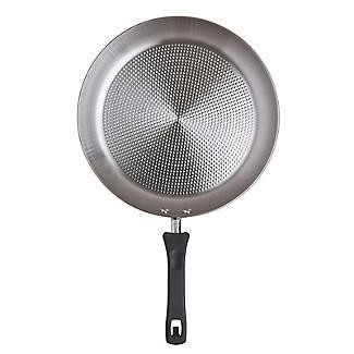 Prestige Kitchen Hacks 3-Piece Stainless Steel Nesting Frying Pan Set alt image 8
