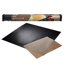 Magic Non-Stick Oven Liner 50 x 50cm with Free Magic Baking Tin Liner