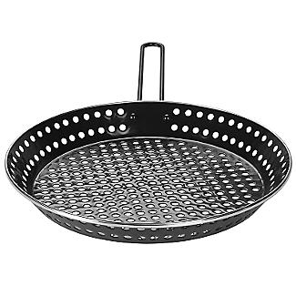Barbecue Perforated Frying Pan - 30cm alt image 4