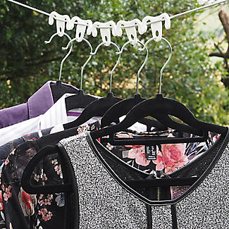 12 Washing Line Clothes Hanger Hook Ups alt image 2