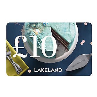 £10 Lakeland Happy Birthday Gift Card