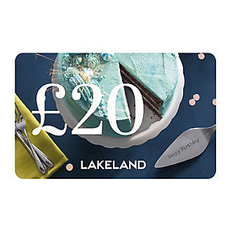 £20 Lakeland Happy Birthday Gift Card