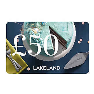 £50 Lakeland Happy Birthday Gift Card