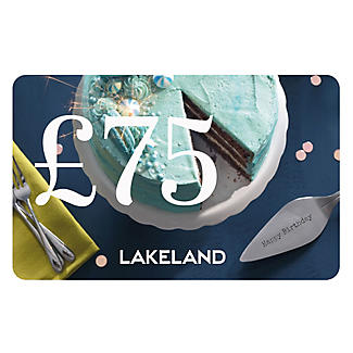 £75 Birthday Gift Card